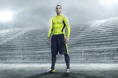 Zlatan en mode hiver pour Nike