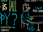 Bande annonce Tall Happy?: Animated Conversation with Noam Chomsky réalisé Michel Gondry.