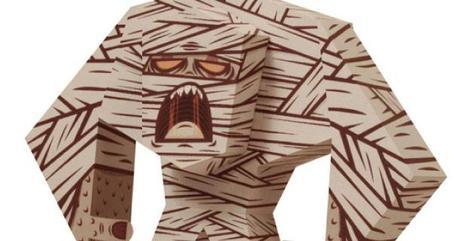 Blog_Paper_Toy_papertoy_Mummy_Tougui