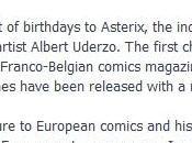 Tony Isabella rappelle l'anniversaire d'Astérix Facebook
