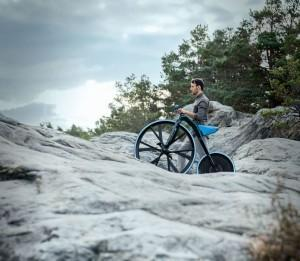 Le vélocipède électrique en action