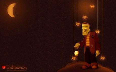halloween-wallpaper-gratuit-frankenstein-halloween