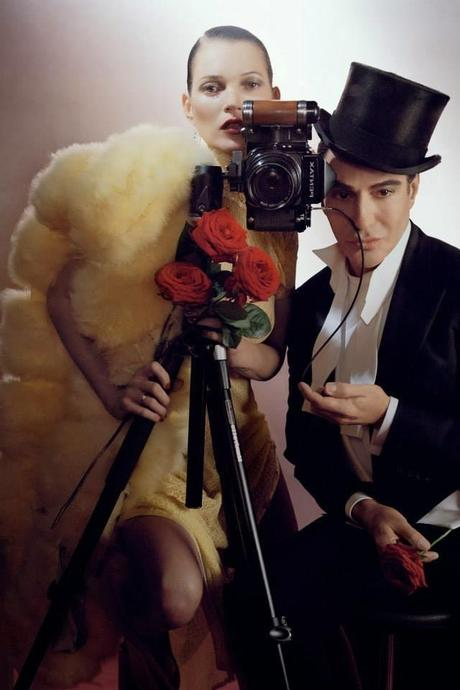 Le shooting de John Galliano pour le Vogue UK de Décembre signe t'il son retour ???