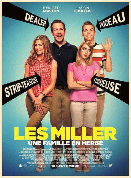 Cinéma : Les Miller, une famille en herbe (We're the Millers)