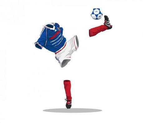 Football Invisibles, création de Mark Yesilevskiy