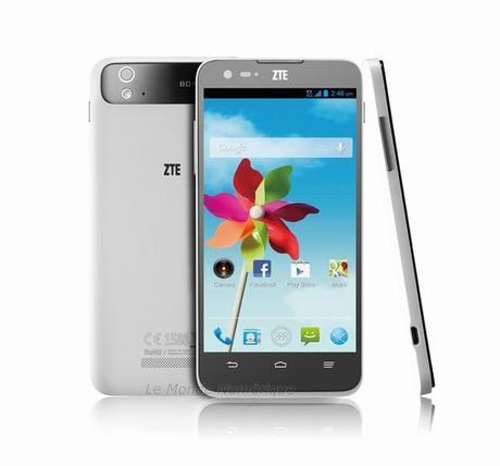 Grand S Flex, le smartphone 5 pouces HD par ZTE