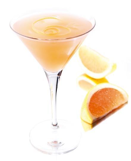 Cocktail à base de liqueur de pamplemousse : Cocktail Pink Night
