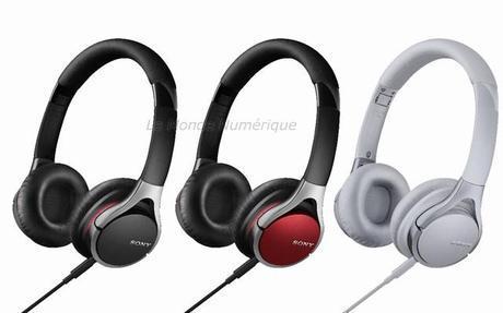 Casques Sony MDR-10, pour plus de musique et moins de nuisance