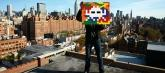 thumbs space invader p Lartiste Space Invader passe par la case prison !