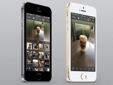 iPhoto sur iPhone: Transmettre des photos à un appareil...