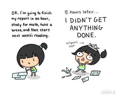 Chibird, procrastination...