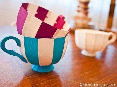 Paper Tea Cup #1 by Nicola Pravatto
