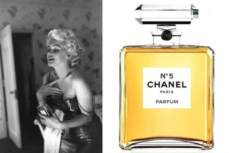 marylin monroe chanel 5