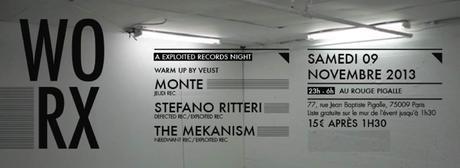 The Mekanism présente WORX avec Monte et Stefano Ritteri au