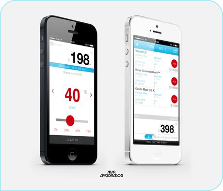 Pick iOS7 shopping app