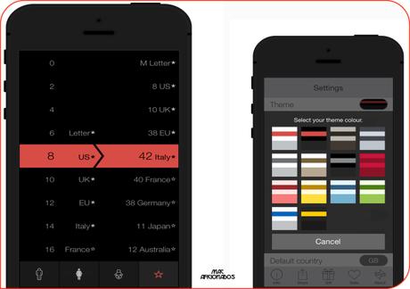 Vert iOS 7 convertisseur devises