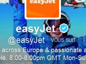 Quand Easyjet ratrappe qualité service grâce client Twitter