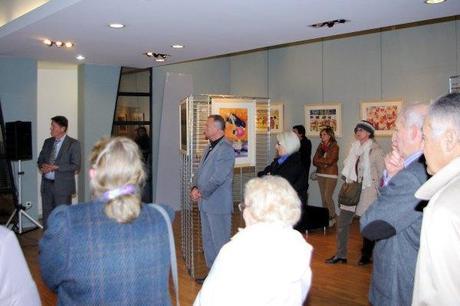Vernissage à la Maison du Patrimoine de Comines de l'exposition «La vie tout simplement»