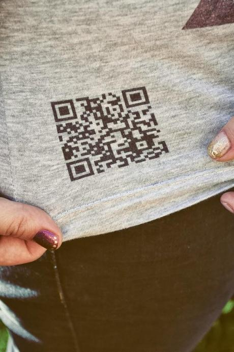 t shirt QR Empire : test. Tshirt pour geek, t shirt qr code.