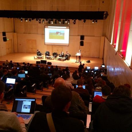Un débat des Assises du Journalisme à Metz, en 2013