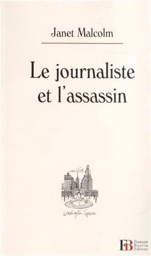 Couverture, Le Journaliste et l'assassin de Janet Malcolm