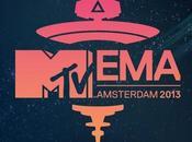 2013 palmarès, Miley Cyrus, Eminem, Direction, Bruno Mars