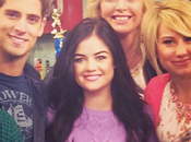 Baby Daddy Lucy Hale (Pretty Little Liars) tournage saison