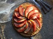 Tarte fine gourmande pomme-châtaigne-pavot