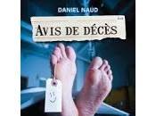 Avis décès tribulations d'un croque-mort Daniel Naud