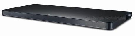 LG SoundPlate, un système audio ultra plat pour accompagner une télévision