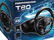Thrustmaster présente volant officiel pour Playstation