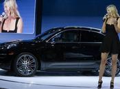 Sharapova hôtesse luxe pour nouveau Porsche Macan
