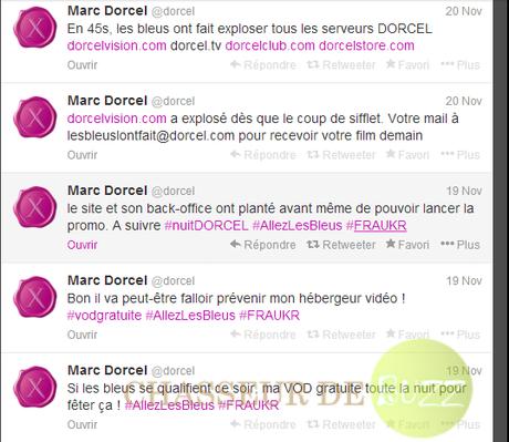 Marc Dorcel site planté