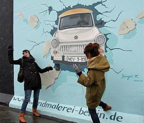 Le mur de Berlin - Crédit photo Chicagogeek via Flickr