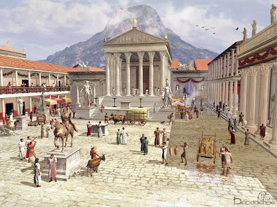 Pompéi et le Vésuve
