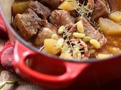 Sauté porc flageolets, pommes terre lardon