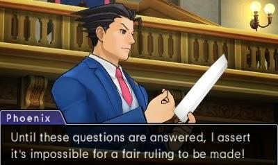 Mon jeu du moment: Ace Attorney Dual Destinies