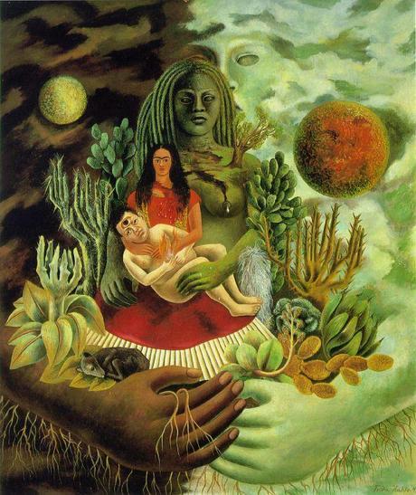 he Love Embrace of the Universe, the Earth (Mexico), Me, and Senor Xolotl, 1949,