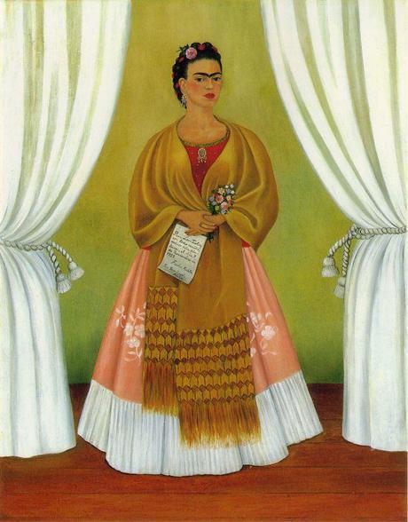 Frida Kahlo, Self-Portrait (Dedicated to Leon Trotsky), 1937,