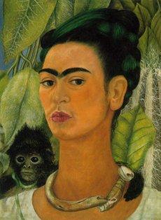 Portrait au singe