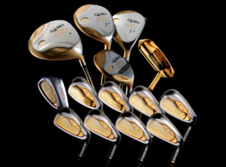 75 000 $ ! Le set de golf le plus cher du monde !