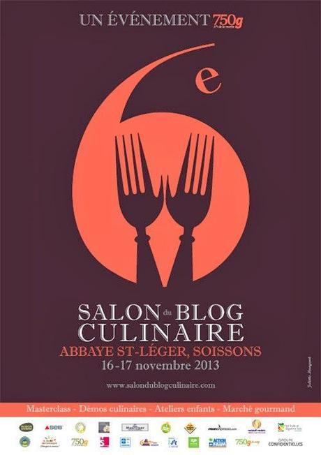 6 eme Salon du Blog Culinaire à Soissons et toujours du bonheur