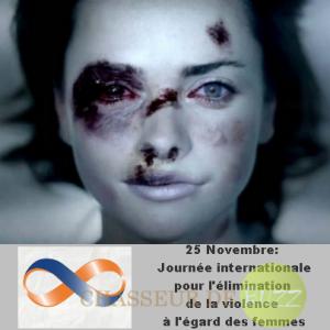 journée mondiale pour l'élimination de la violence contre les femmes