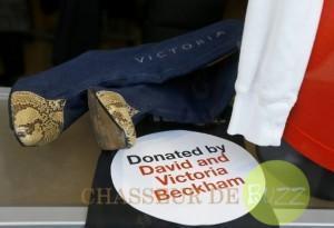 Beckham offrent leur garde-robe aux victimes du typhon Haiyan