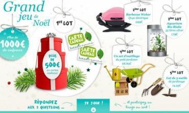 Participez au grand  jeu de Noël botanic