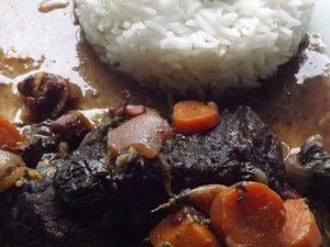 Daube de boeuf à l'orange