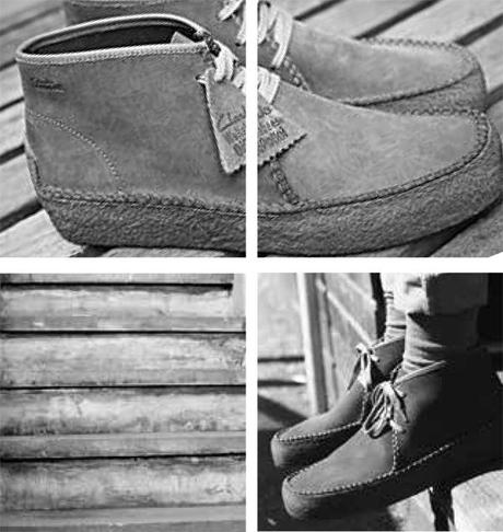 CLARKS ORIGINALS FOR OI POLLOI – S/S 2014 – WALLABEE RIDGE