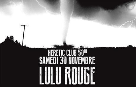 illus - Lulu Rouge à l'Hérétic Club Bordeaux
