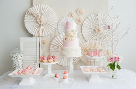 Table à desserts