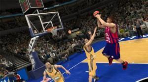 NBA 2K14 - La précision des tirs dépend pour beaucoup d'un bon timing